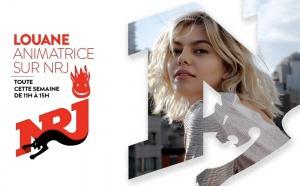 Louane, animatrice sur NRJ Lille
