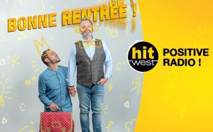 "Hit West se positionne comme la ""Positive Radio"""