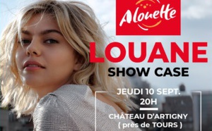 Alouette organise un concert avec Louane