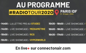 RadioTour : suivez en direct 6 showcases sur ConnectOnAir
