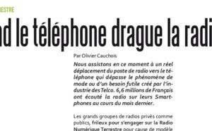 Quant le téléphone drague la radio