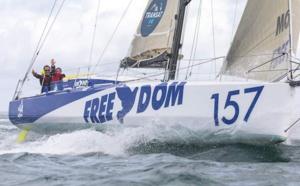Un bateau aux couleurs de Radio Free Dom
