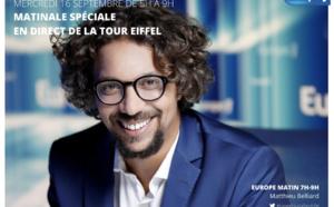 Europe 1 : une matinale spéciale depuis la Tour Eiffel