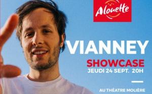 Alouette organise un showcase avec Vianney