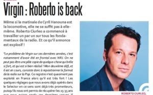Virgin : Roberto is back