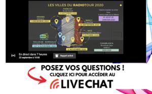 RadioTour : intervenez en direct dans le tchat live