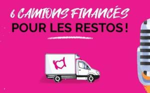 Six camions financés grâce à la radio des Restos du Coeur