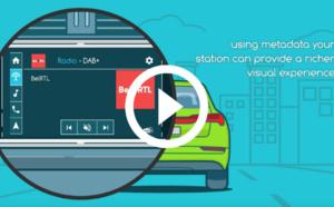 """L'expérience radio """"visuelle"""" se développe dans les véhicules"""