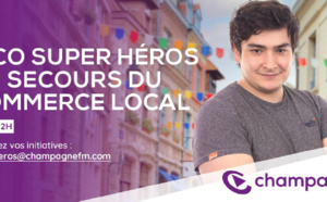 Champagne FM au secours du commerce local