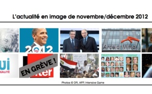 L'actualité sur la période novembre/décembre 2012