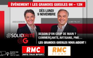 """RMC : les """"Grandes Gueules"""" solidaires des commerçants"""