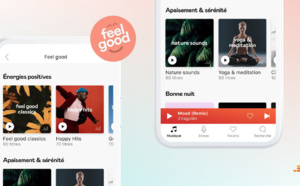 "Deezer a lancé son univers ""Feel Good"""