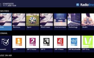 Radioline signe avec Swisscom pour distribuer son application radio