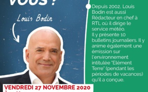 Louis Bodin en direct depuis la Podcast & Radio House