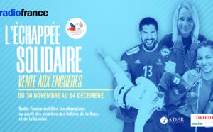 Radio France mobilise les champions du sport pour une vente aux enchères