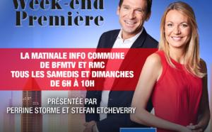 Une nouvelle matinale commune sur RMC et BFMTV