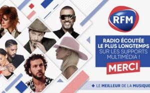 RFM : radio écoutée le plus longtemps sur les supports multimédia