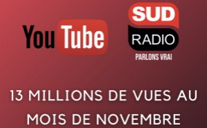 Record d'audience pour Sud Radio sur le digital
