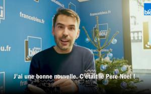 Le Père Noël s'invite sur France Bleu Isère