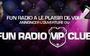 Fun lance le Fun Radio VIP Club