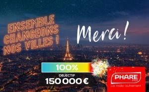 Phare FM collecte 150 000 euros grâce à ses auditeurs