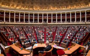 La concentration à l'Assemblée Nationale