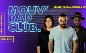 Mouv' Rap Club en direct de La Place