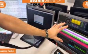 #RadioWeek : une visite guidée exclusive de Sanef 107.7