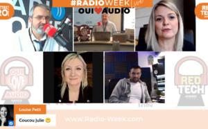 #RadioWeek : Julie Keukelaere gagne le trophée de la Meilleure voice-trackeuse