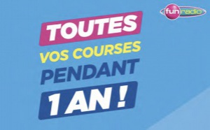 "Fun Radio offre ""un an de courses"""