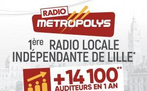 Metropolys, première radio indépendante à Lille