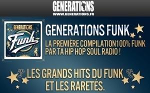 Générations : une compil 100 % Funk