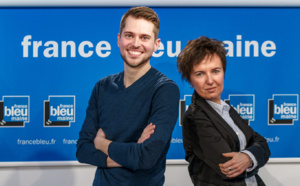 "La matinale ""France Bleu Maine Matin"" sur France 3"