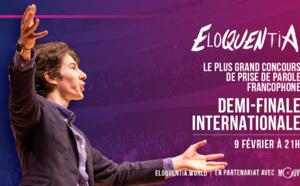 Le concours Eloquentia diffusé en streaming sur Mouv'