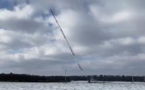 Deux pylônes dynamités dans la plaine de Wavre