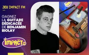 Impact FM offre une guitare Fender dédicacée par Benjamin Biolay