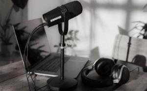 Shure dévoile son micro MV7 pour les podcasters