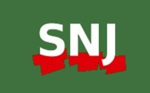 Le SNJ dans la rue