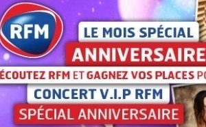L'anniversaire RFM en mai