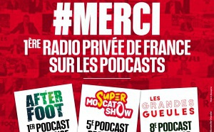 """L'After Foot"" sur RMC , premier podcast de France"