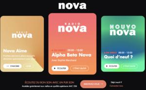 Radio Nova en forte croissance sur le numérique