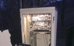 Une site de diffusion d'Azur FM totalement détruit