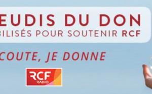 """RCF lance """"Les jeudis du don"""""""