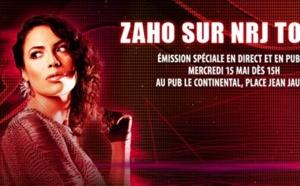 Zaho à Tours sur NRJ