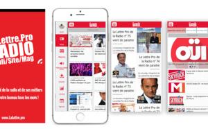 Téléchargez l'application gratuite de La Lettre Pro