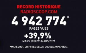Près de 5 millions de pages vues sur radioscoop.com