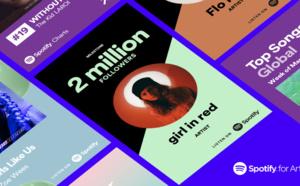 Spotify lance Promo Cards en français avec de nouvelles fonctionnalités