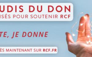 """Les """"Jeudis du don"""" sur RCF Hauts-de-France"""