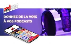 """NRJ Global lance l'offre """"Donnez de la voix à vos podcasts"""""""