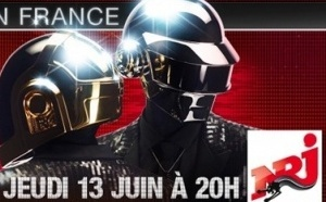 Daft Punk (en direct) sur NRJ